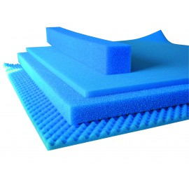 Hobby Mousse filtrante grosse bleu 50x50x3cm