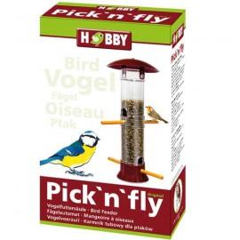 Hobby Pick'n'fly Rouge - Mangeoire à oiseaux - hauteur 35cm
