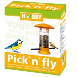 Hobby Pick'n'fly Mini Jaune - Mangeoire à oiseaux - hauteur 20cm