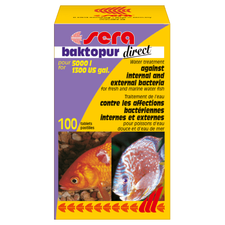 sera baktopur direct 100 Tabs