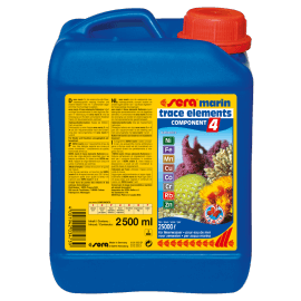 Sera Marin Component 4 Trace Elements Kationics 2500ml