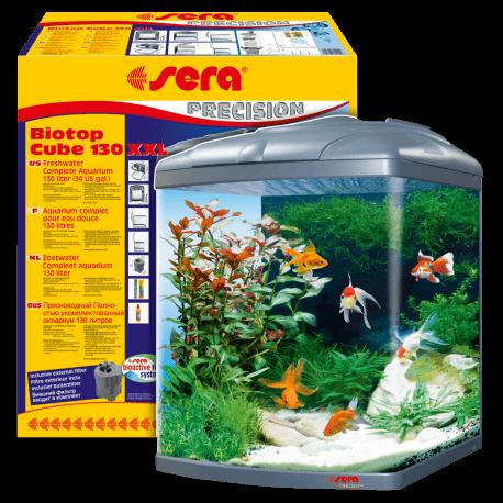 Sera biotop cube 130 xxl aquaplante for Sera acquari