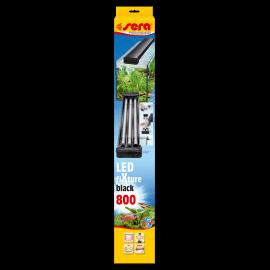 SERA LED FiXture 800 BLACK - Rampe d'éclairage pour Tubes LEDs SERA