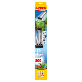 SERA LED FiXture 800 SILVER - Rampe d'éclairage pour Tubes LEDs SERA