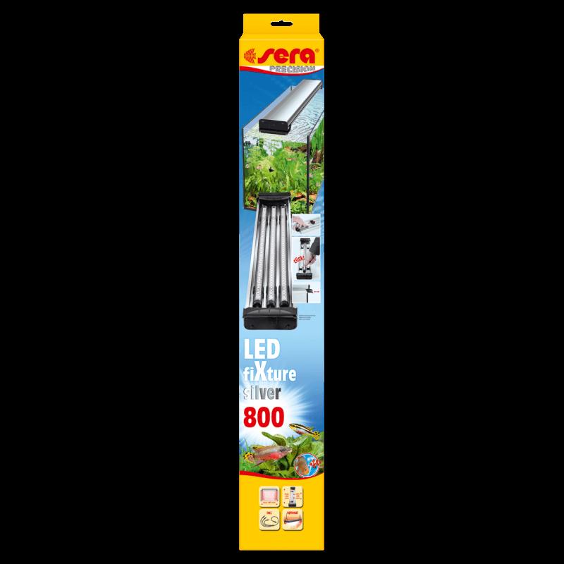 sera led fixture 800 silver rampe d 39 clairage pour tubes leds sera aquaplante. Black Bedroom Furniture Sets. Home Design Ideas