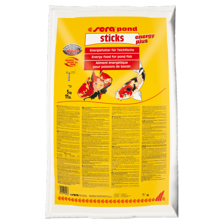 sera pond sticks energy plus
