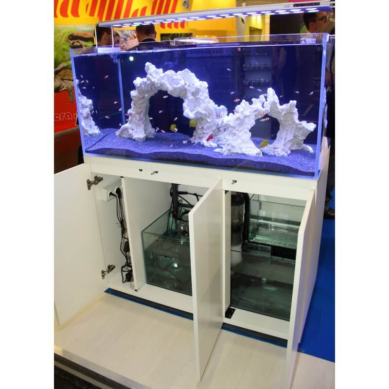 aquarium systems l 39 aquarium 250 blanc aquaplante. Black Bedroom Furniture Sets. Home Design Ideas