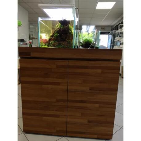 meuble bois l pour aquarium de 90cm x 45cm 180l