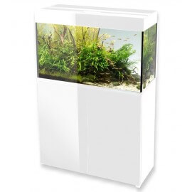 AQUAEL AQUARIUM GLOSSY LED 80 BLANC