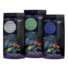 Aquarium Systems Mega Media medium vert 500gr
