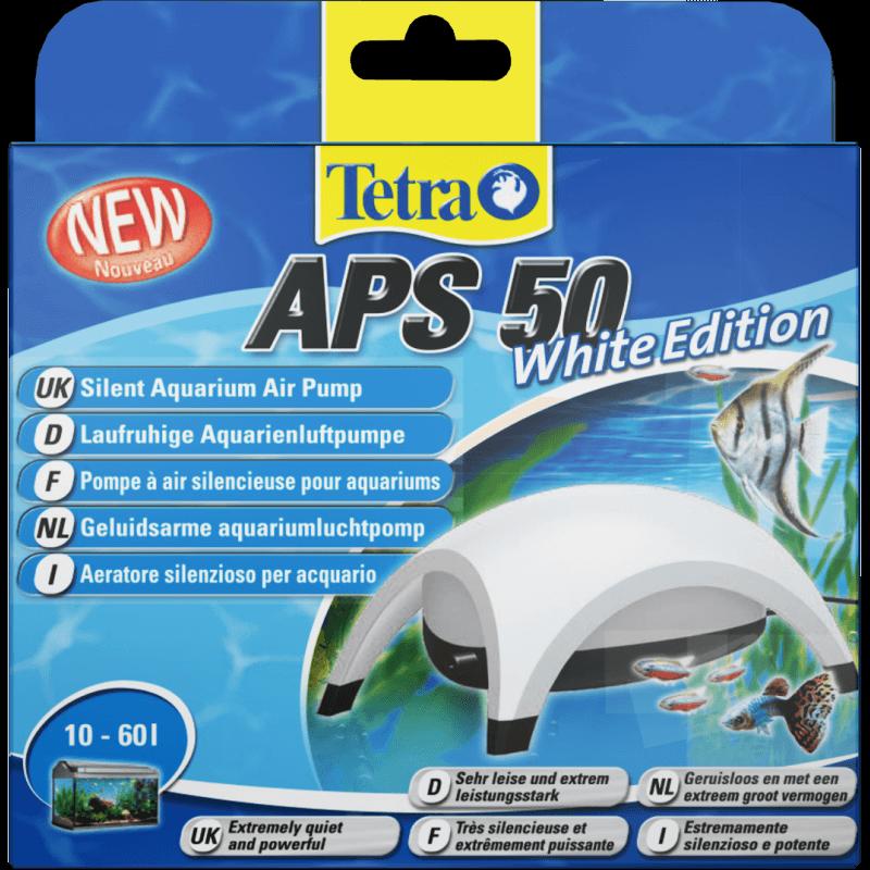 tetra aps 50 blanche pompe air pour aquarium. Black Bedroom Furniture Sets. Home Design Ideas