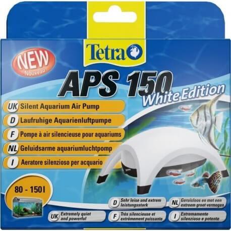 tetra aps 150 blanche pompe air pour aquarium 21 9. Black Bedroom Furniture Sets. Home Design Ideas