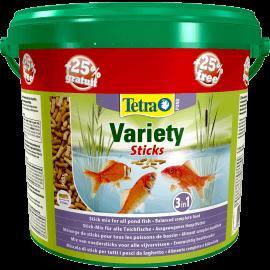 Tetra Pond Variety Sticks 4L + 25% GRATUIT (5L)