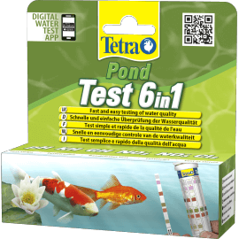 Tetra Pond Test Bandelettes 6in1