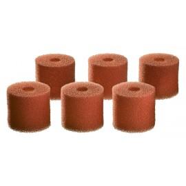 Oase Set de 6 Mousses 30ppi pré-filtre pour BioMaster 600 / Thermo 600