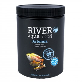 River Aqua Food Artemias Flakes 1000ml