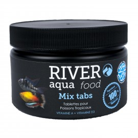 River Aqua Food Mix Tabs 250ml