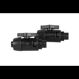 SERA Vannes entrée/sortie « IN »/« OUT » avec joints pour sera UVC-Xtreme 1200