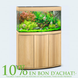 AQUARIUM JUWEL VISION 180 LED CHENE CLAIR
