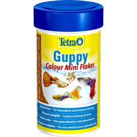 Tetra Guppy Colour Mini Flakes 250ml