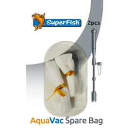 Superfish 2 Sacs pour Aquavac