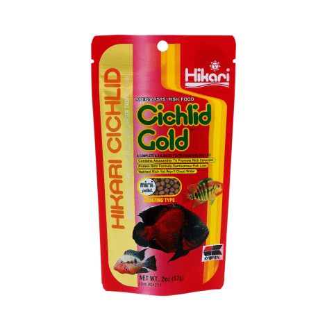 Hikari Cichlid Gold Mini 57gr