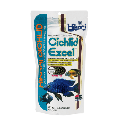 Hikari Cichlid Excel Medium 250gr