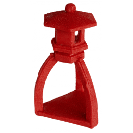 Superfish Pond Zen Deco Pagoda Rouge
