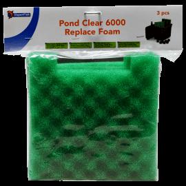 SuperFish PONDCLEAR 6000 MOUSSE DE REMPLACEMENT 3PCS