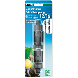 JBL Robinet double raccord rapide 12/16mm