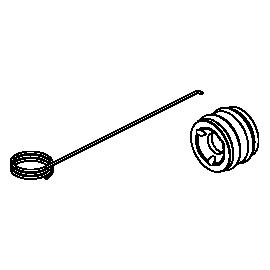 SICCE Pallier inférieur + crochet de rechange pour SYNCRA SDC 7.0 et 9.0