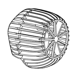 SICCE Grille de protection de remplacement pour VOYAGER NANO 1000 et 2000