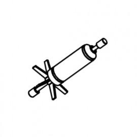 SICCE Rotor + Axe Céramique + Caoutchoucs de rechange pour ULTRA ZERO
