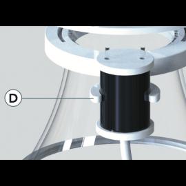 Horizon Aqua MUFFER CLAMP pour SKIM SD1500