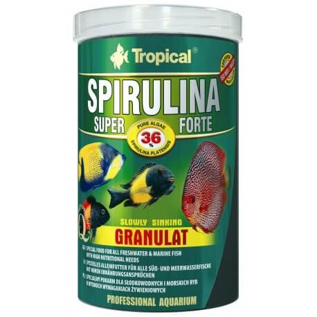Tropical Super Spirulina Forte Granulat 100 ml