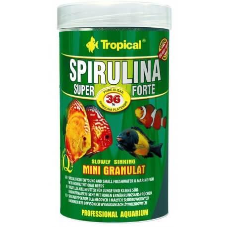 Tropical Super Spirulina Forte Mini Granulat 100 ml
