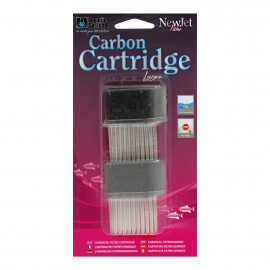 Aquarium Systems 2X Cartouche Charbon POUR NEWJET FILTER LARGE