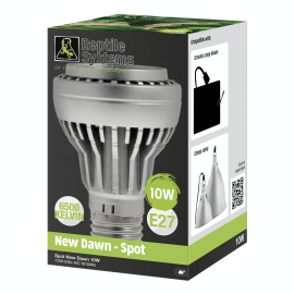Reptile Systems New Dawn LED 10w - Vertical Position - E27