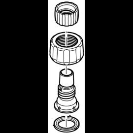 """Oase Connecteur de tuyau 1"""" - 17 mm de rechange pour OptiMax 2000 / 3000 / 4000 / 5000"""