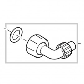 Oase Raccord de tuyau de rechange pour ClearTronic 7W / 9W / 11W
