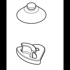 Oase Clip + Ventouse de rechange pour chauffage HeatUp Basis