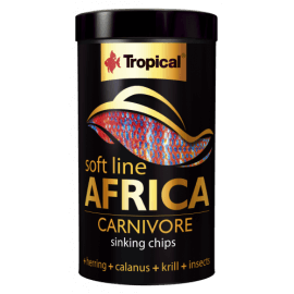 TROPICAL SOFT LINE AFRICA CARNIVORE chips 250ml