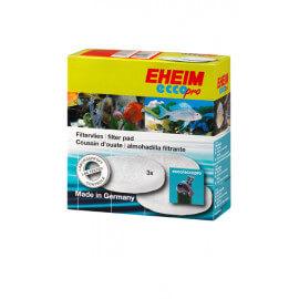 EHEIM mousse bleu + 4 ouates pour Eccopro 130 / 200 / 300 (2032 / 2034 / 2036)