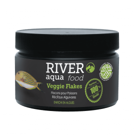 River Aqua Food Reef Veggie Flakes 250ml