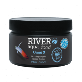 River Aqua Food Reef Veggie Pellets S 250ml