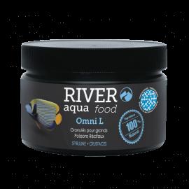 River Aqua Food Reef Omni Pellets L 250ml