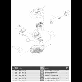 Oase Transformateur DE45 12W avec 1 sortie Water Starlet