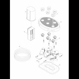 Oase Ajutage à LED Water Trio / Quintet Water Trio