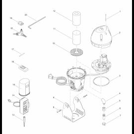 Oase Base de dispositif Jumpingjet