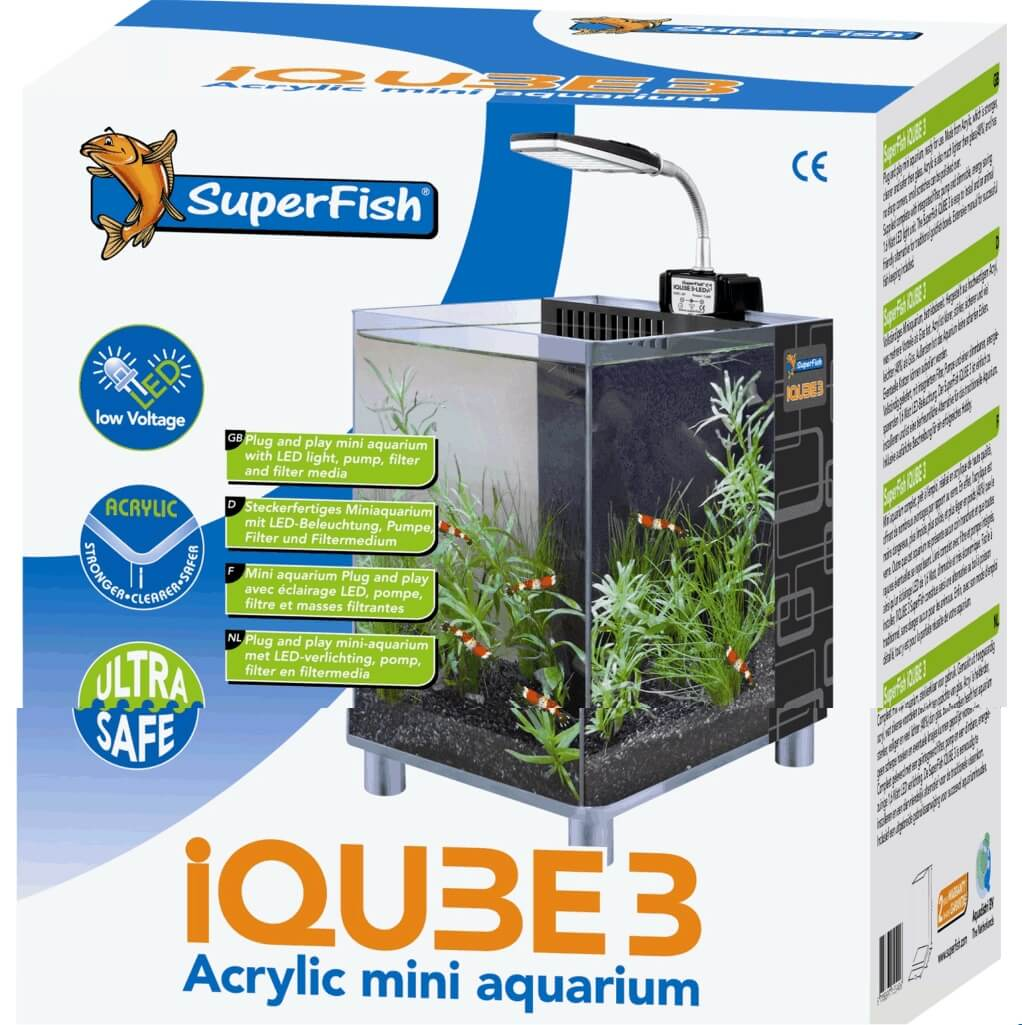 3 Superfish Nano Iqube Aquarium Superfish c4jL5R3qA